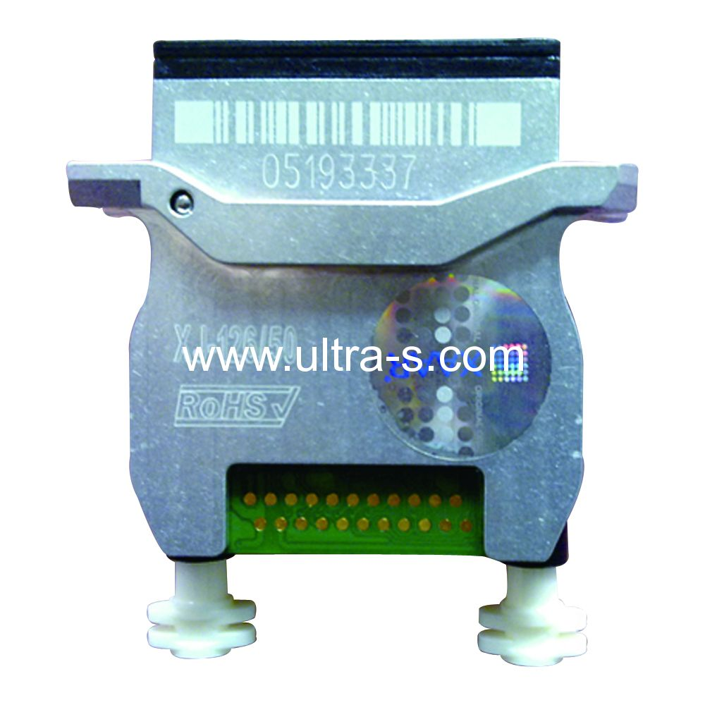 1 piece original xaar 126 80pl print head for wit color gongzheng inkjet solvent printing machine