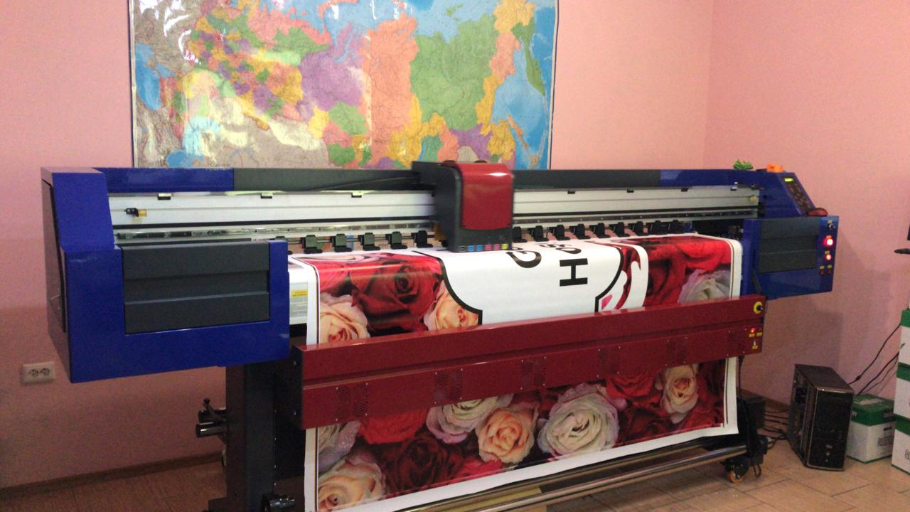 Запуск интерьерного принтера OPTIMUS 2200X на DX8(XP600) голове в Ростове-на-Дону