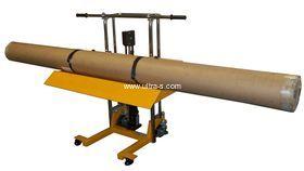 Подъемник-транспортер для рулонных материалов в магазине Ультра-С